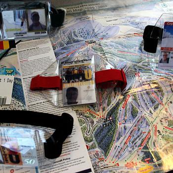 Ski maps - Paper