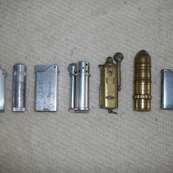 Various Lighters From A Few Countries - Tobacciana