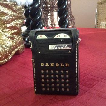 Candle PTR-62B transistor radio - Radios