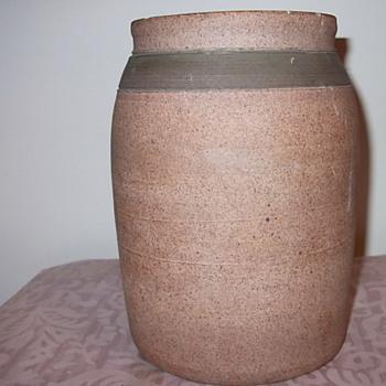 """Old? Pottery Vase """"BM""""? - Pottery"""