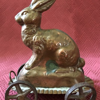 Copper Rabbit Toy - Animals