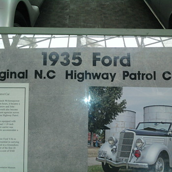NC TRANSPORTATION MUSEUM - Classic Cars