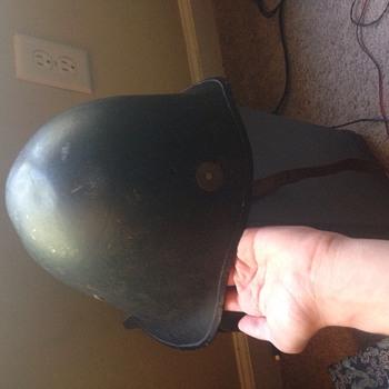 Mystery Milatary helmet