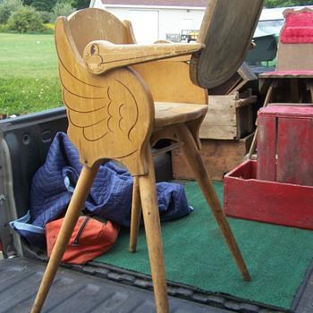 stork high chair - Furniture