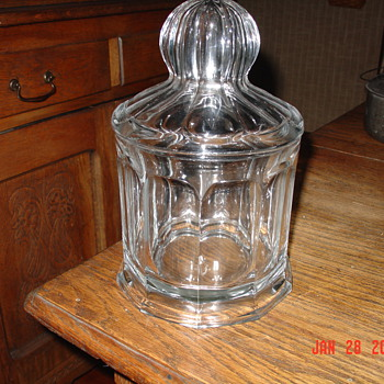 A True Antique...Heisey Fruit Jar...1908 - Glassware