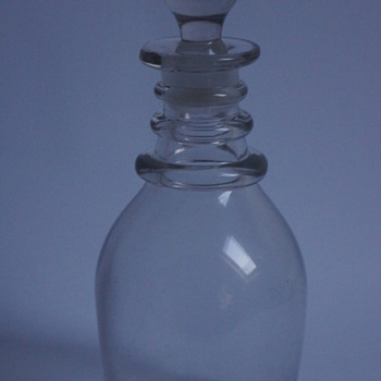 Georgian Miniature Decanter - Art Glass