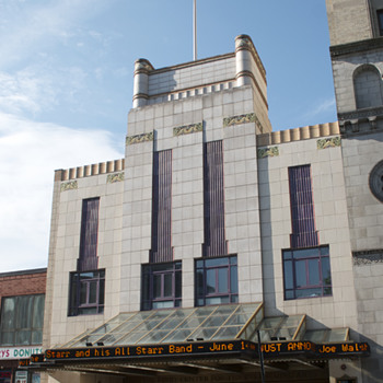 Kirby Center, Wilkes-Barré, PA - Art Deco