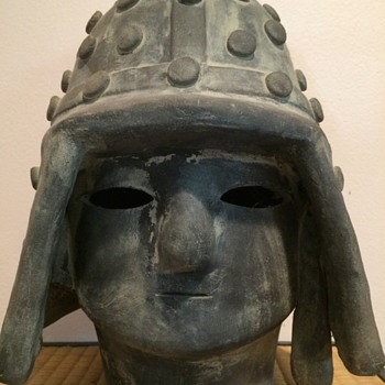 Asian Clay head that I assume is Japanese but not sure. - Asian