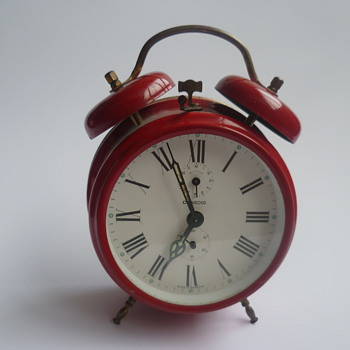 1960's-1970's German Chambord (Jerger) alarm clock. - Clocks