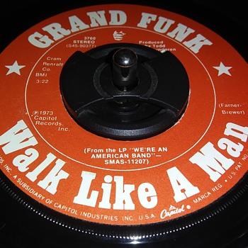GRAND FUNK RAILROAD - Records