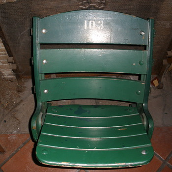 "Wrigley Field ""please have a seat"" Wanna watch the Game?"
