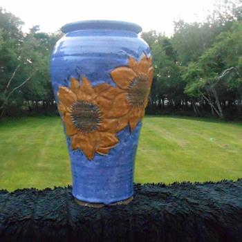 Sunflower Vase - Pottery