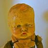 ANTIQUE GERMAN LW & CO MECHANICAL CHARACTER BOY DOLL ORIE-ANN PAT-PEND