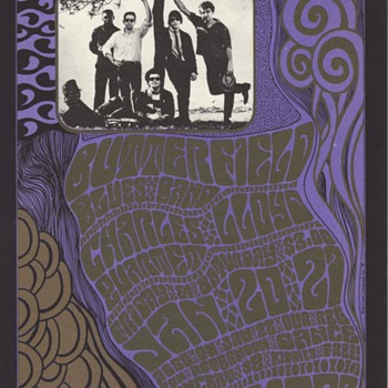 Butterfield Blues Band at the Fillmore, 1967 - Posters and Prints