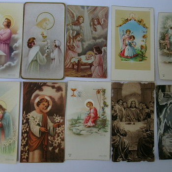 Vintage Communion cards. - Cards