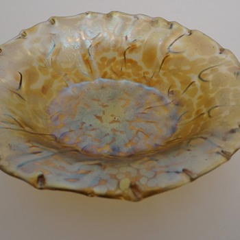 Loetz Neptun Candia Papillon - Art Glass