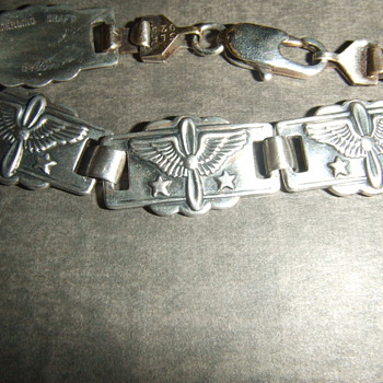 WW2 Sweetheart Army Air Corps bracelet