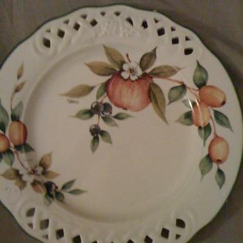 tiffany plate/and bavaria plate - China and Dinnerware