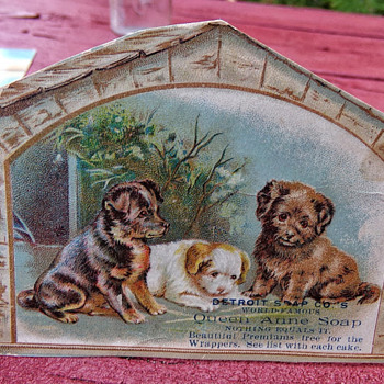 Two Trade Cards - Paper