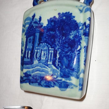Blue and White Ceramic Pottery - Pottery