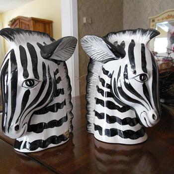 Zebras - Pottery