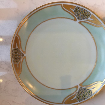 Vintage china plate from Barvaria