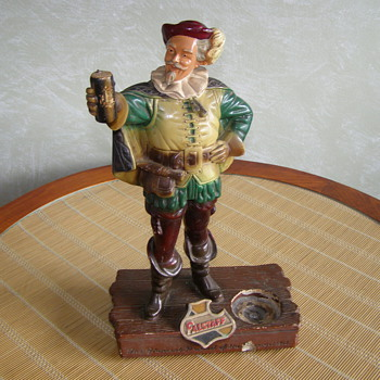 Vintage Falstaff Bar Figure - Breweriana
