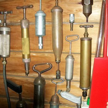 Some of my grease gun collection - Tools and Hardware