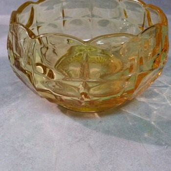 GOLD GLASS BOWL - Kitchen