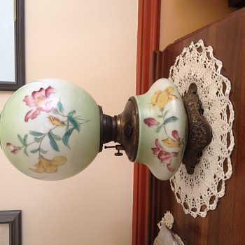 My beautiful GWTW lamp. - Victorian Era