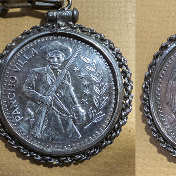 1 oz Pancho Villa silver coin