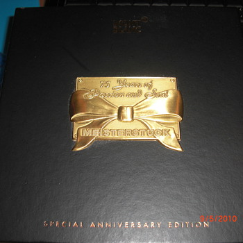 Montblanc 75th Special Anniversary Edition/w Diamond accent