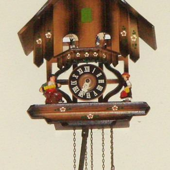 Black Forest Cuckoo Clock, Musical w/Dancers - Clocks