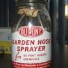 Du Pont Garden Hose Sprayer