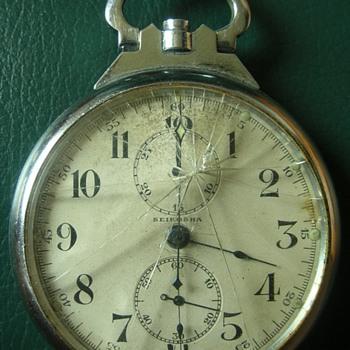 WWII Japanese Pilots Seikosha Chronograph