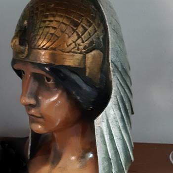 Ceramic bust - Art Deco