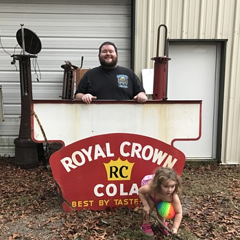 1950's Royal Crown Cola sign - Signs