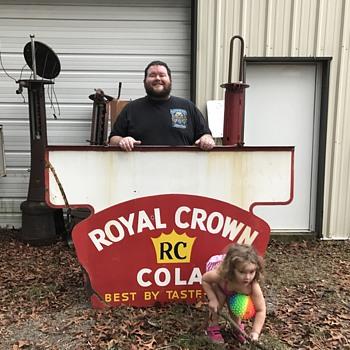 1950's Royal Crown Cola sign