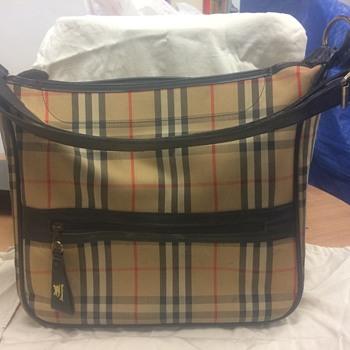 My Grandmothers Burberrys Shoulder Bag