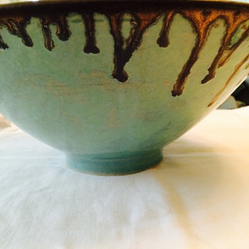 I love the colour and design.  - Pottery