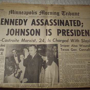 Kennedy Newspapers. - Paper