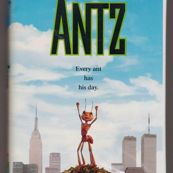 "1999 - ""ANTZ"" Children's VHS Tape"
