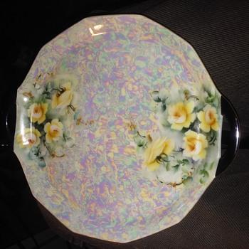 my porcelain cake tray - China and Dinnerware