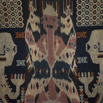 Large Indonesian Textile - Rugs and Textiles