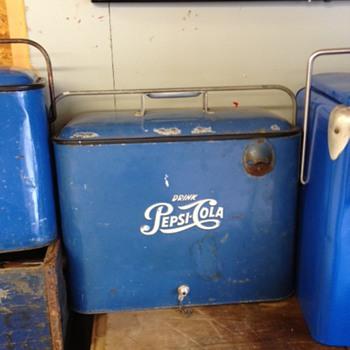 Pepsi Progress A4 Cooler
