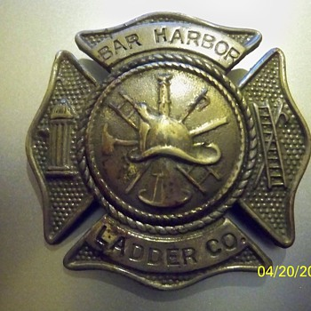 "Bar Harbor Ladder Co., survived ""THE GREAT FIRE"" of 1947"