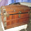 Large Slat Trunk - Fall River Trunk Company