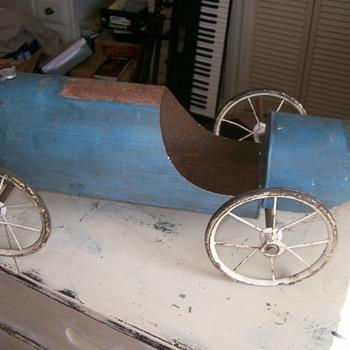 Folk Art Racer Project / Lemonade from Lemons - Model Cars
