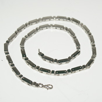 Possibly Sterling Necklace/Chain Made in Mexico - Fine Jewelry