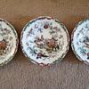 A set of Ashworth Bros Hanley plates